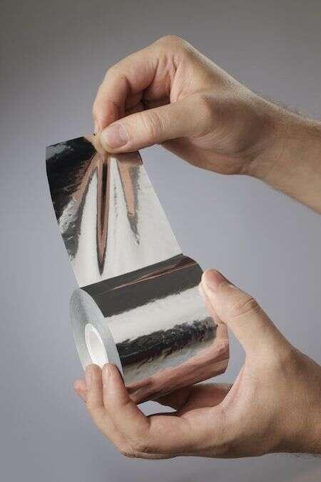 produzione nastri in tela e alluminio